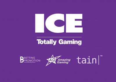 We'll see you at ICE Totally Gaming 2018