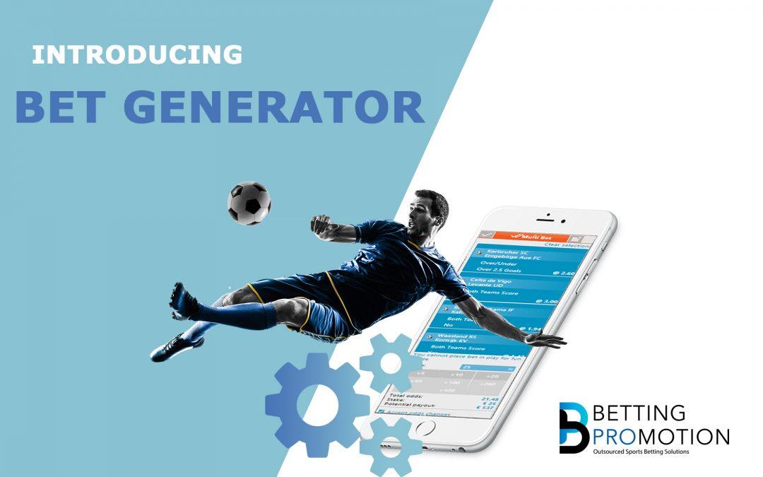 New Sportsbook Feature: Bet Generator