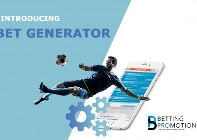 New Sportsbook Feature: Bet Generator