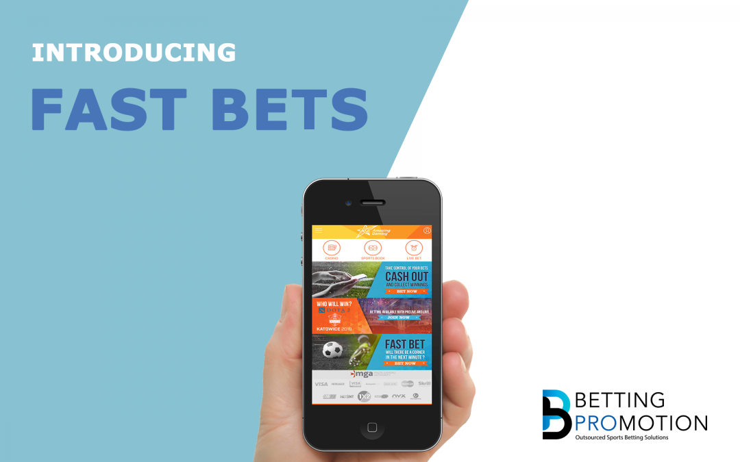 New Sportsbook Feature: Fast Bets