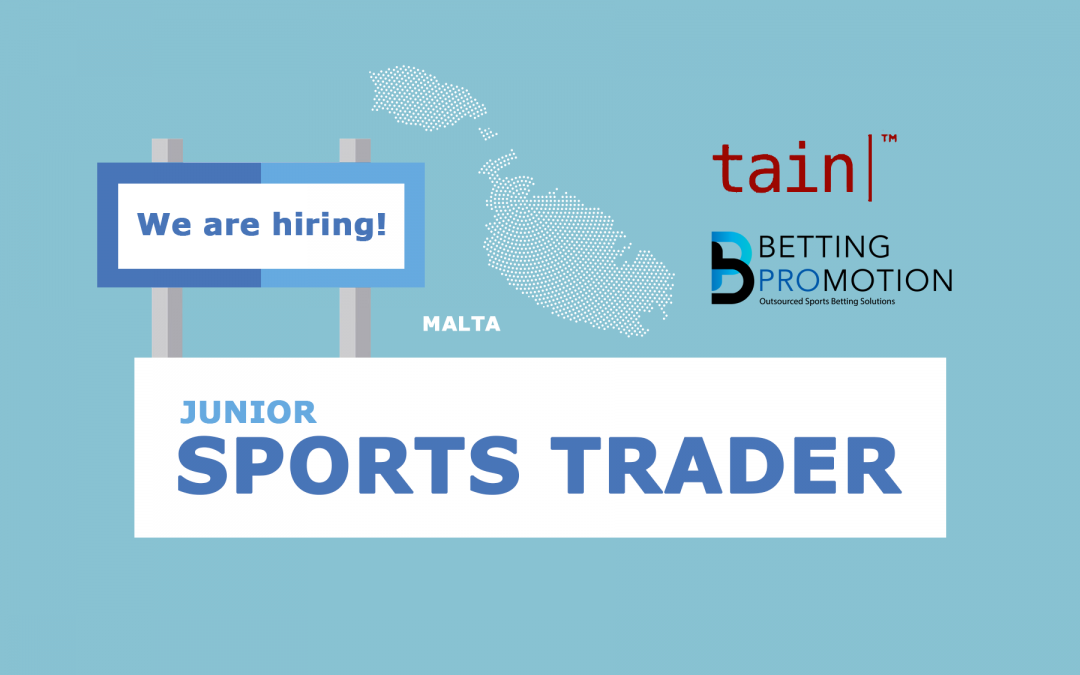 We are hiring: Junior Sports Trader