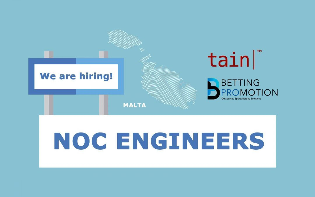 We are hiring: NOC Engineers