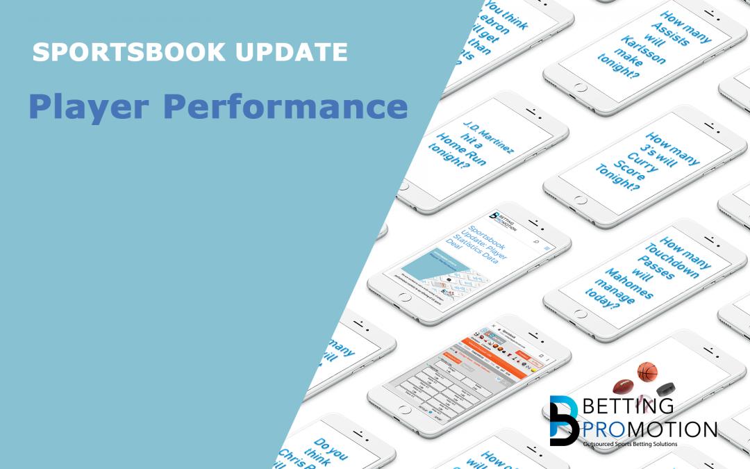 Sportsbook Update: New Sports Statistics Data Deal